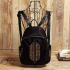 Studded Oxford Backpack