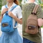 Twist-lock Canvas Backpack