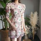 Bloom Print Minidress