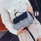 Houndstooth Chained Shoulder Bag