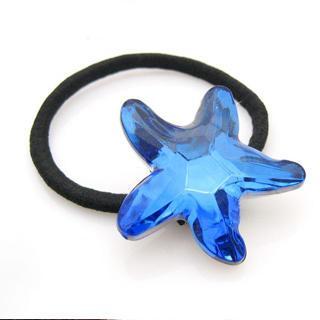 Starfish Hair B&-blue
