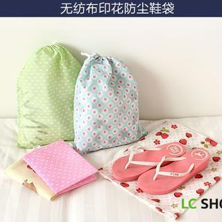 Printed Drawstring Pouch