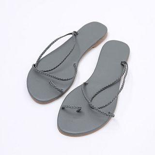 Braided-strap Flip-flops