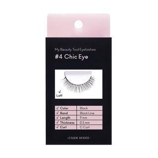 Etude - My Beauty Tool Eyelashes - 6 Types #04 Chic Eye