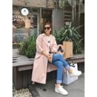 Flap-back Snap-button Trench Coat