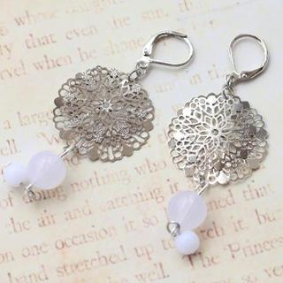 Double Snowflakes Earrings
