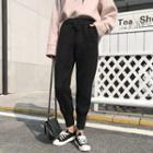 Plain Hoodie / Harem Pants