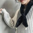Faux Pearl Light Scarf