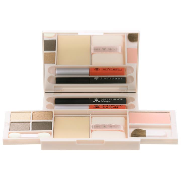 Bisous Bisous - Love Complete Makeup Palette (#01 Natural Brown) 18.6g