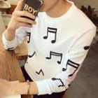 Musical Print T-shirt