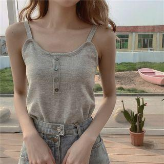 Henley Knit Camisole Top