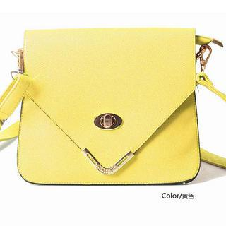 Twist-lock Crossbody Bag