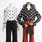 Loose-fit Dotted Shirt