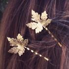 Maple Leaf Bobby Pin