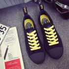 Couple Matching Lace-up Canvas Sneakers