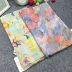 Print Linen Cotton Scarf