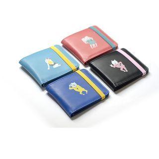 Cartoon Print Fold Wallet