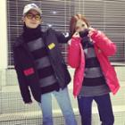 Couple Matching Hooded Padded Jacket