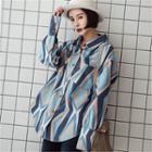 Long-sleeve Printed Loose-fit Shirt
