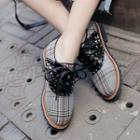 Studded Color Panel Oxfords