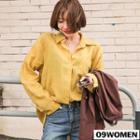 Boxy-fit Long-sleeve Linen Shirt