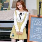 A-line Knit Jumper Skirt