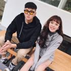 Couple Matching Hooded Pullover