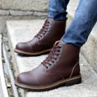 Genuine-leather Ankle Boots