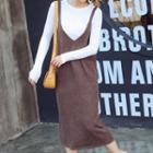 Set: Knit Top + Knit Tank Dress