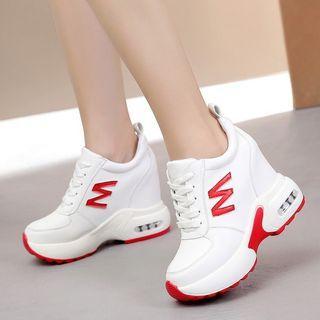 Wedge-heel Platform Sneakers