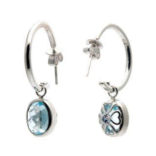 Blue Topaz Versatile Earrings