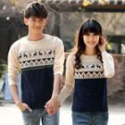 Couple Matching Printed Pullover (various Designs)