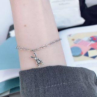 Rabbit Bracelet Silver - One Size