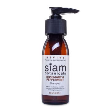 Siam Botanicals - Revive - Rosemary And Peppermint Hair Shampoo 100g
