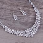 Wedding Tiara / Set: Necklace + Earrings