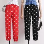 Lightweight Dotted Jogger Pants