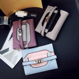 Twist-lock Tri-fold Wallet