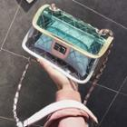 Chain Strap Shoulder Bag With Pouch