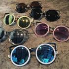 Mirrored Cat Eye Sunglasses