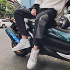 Color Panel Jogger Jeans