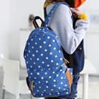 Dotted Backpack Blue - One Size