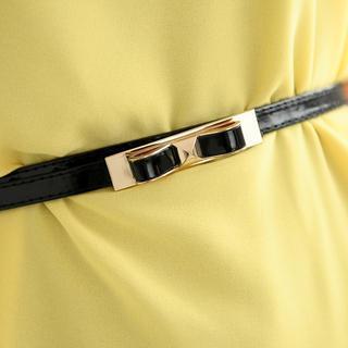 Bow-accent Trim Belt