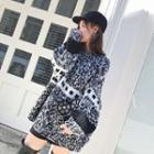 Loose-fit Melange Sweater