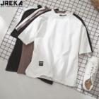 Colorblock Short-sleeved T-shirt