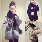 Woolen Hooded Coat
