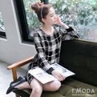 Grid Shift Dress