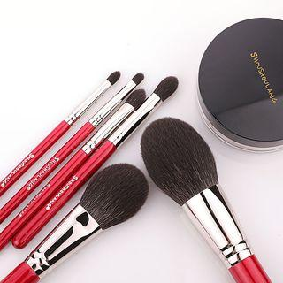 Set Of 6: Makeup Brush As Shown In Figure - One Size