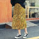 Pleated Pattern Skirt