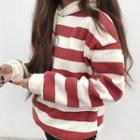 Striped Oversized Hoodie
