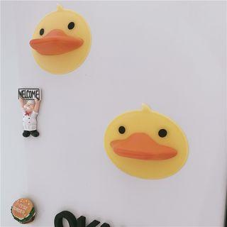 Set Of 2: Silicone Duck Oven Glove Set Of 2 - As Shown In Figure - One Size